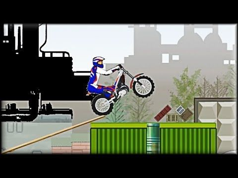 Played motorsports? Ever played games with motorbikes that you need to get through the track to the end? Well this is the game you should play. Customize your bike and your suit and then you're ready to test yourself with different tracks on different levels. Your score is based on how long it took you to get to the end. You can fall down as much as you like. Just get your bike to the end. More info and links here:  http://www.freegamesexplorer.com/games/videos/moto-trial-fest/