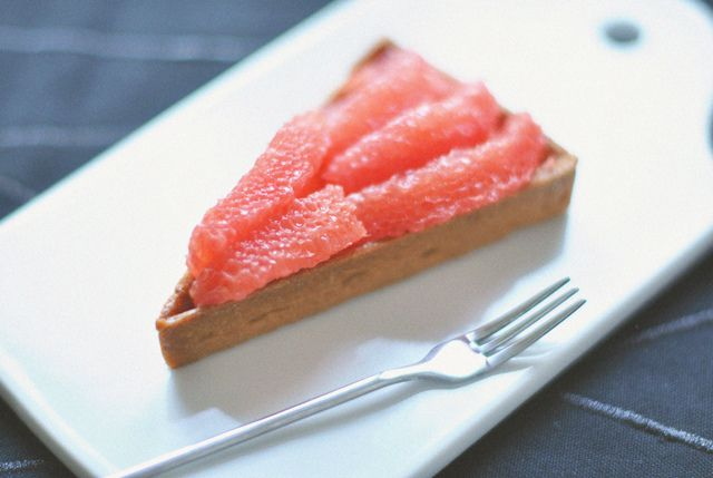 Grapefruit tart | by *steveH