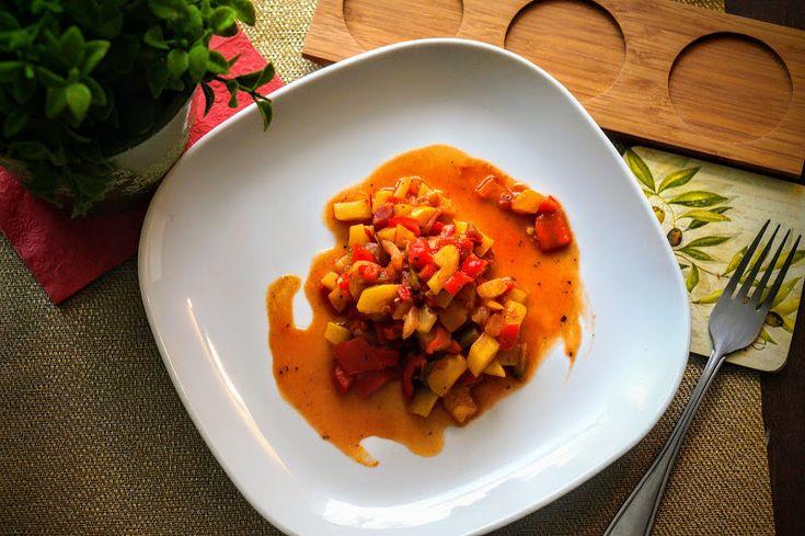 Fit & Fast Kitchen: Leczo wegetariańskie