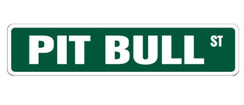PIT BULL Street Sign collectible pitbull dog pet breeder american gift *** More info could be found at the image url. (This is an affiliate link and I receive a commission for the sales)