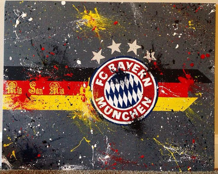 Bayern Munchen Logo by https://www.facebook.com/JessicaSpanglerArt