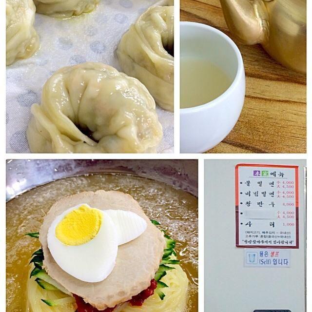 釜山名物ミル麺と餃子 - 10件のもぐもぐ - 물민면と만두 by seabreeze