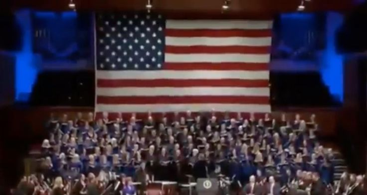Donald Trump 'Make America Great Again' song review: A jingoistic orchestral number reminiscent of the Kim dynasty - The Independent