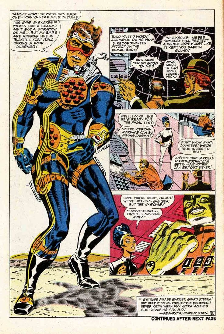 Jim Steranko's Nick Fury