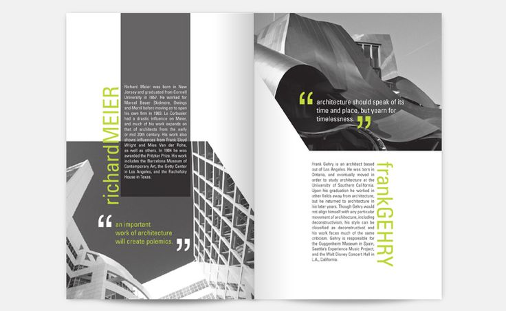 Architecture Design Brochure brochure architecture | layout design | pinterest | grey, design
