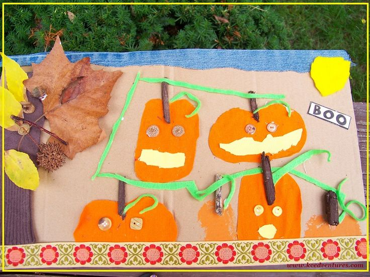 "Create a Textured Pumpkin Patch & read ""Boo to You"" with the Online Book Club for Kids!"