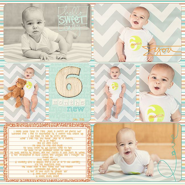 Best 25+ Baby album ideas on Pinterest   Project life baby ...