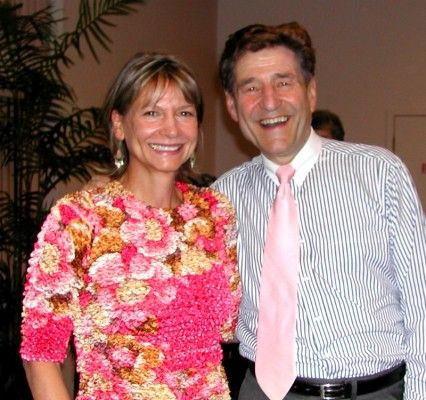 Lani Muelrath with Dr. Hans Diehl at the CHIP graduation http://www.lanimuelrath.com/weight-loss/chip-graduation-major-weight-loss-wins-with-the-coronary-health-improvement-project/:  Pj'S, Weight Loss, Plants Bas Posse, Hans Diehl,  Jammi, Lani Muelrath, Chips Graduation, Weights Loss, Inspiration People