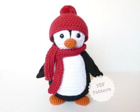 Amigurumi Penguin Crochet Pattern, PDF Download by Joyful Round