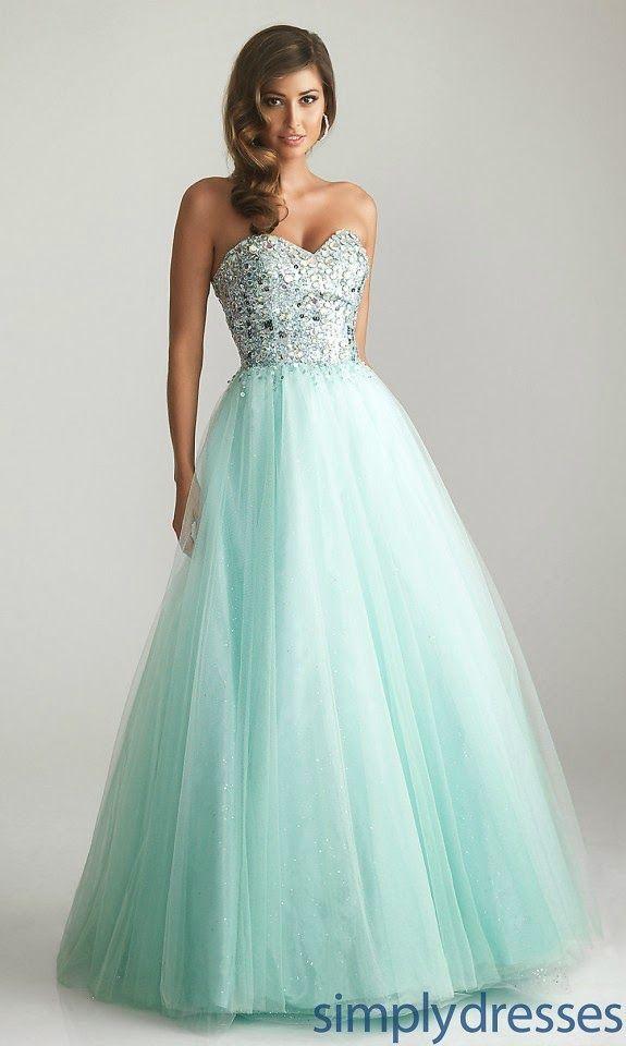 Vestido Color Tiffany, Moderno y elegante , el color es de temporada y me parece perfecto para las niñas que no buscan vestidos tan ampones y amplios