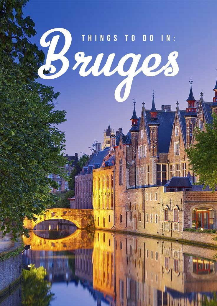 With the whole historical city listed as a UNESCO World Heritage Site, you�ll truly be transported to the medieval times in Bruges � a true gem of Belgium!   via http://iAmAileen.com/in-bruges-belgium-fairy-tale-town/ #travel #ttot #Bruges