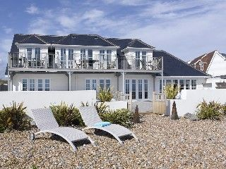 Stunning beach front property featured in Tatler & Country LifeHoliday Rental in Arun from @HomeAwayUK #holiday #rental #travel #homeaway