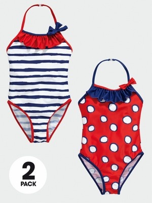 Ladybird Spot and Stripe Swimming Costumes (2 pack), http://www.very.co.uk/ladybird-spot-and-stripe-swimming-costumes-2-pack/1212956885.prd