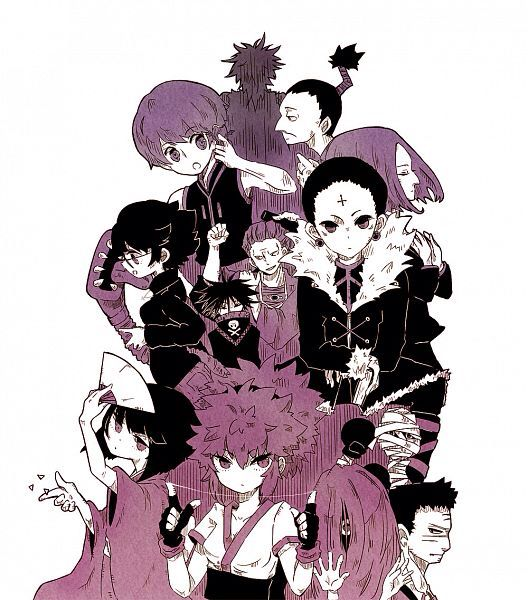 Hunter X Hunter Phantom Troupe 66 best images about P...