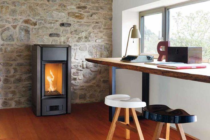 1000 id es propos de poele gaz sur pinterest chemin e. Black Bedroom Furniture Sets. Home Design Ideas