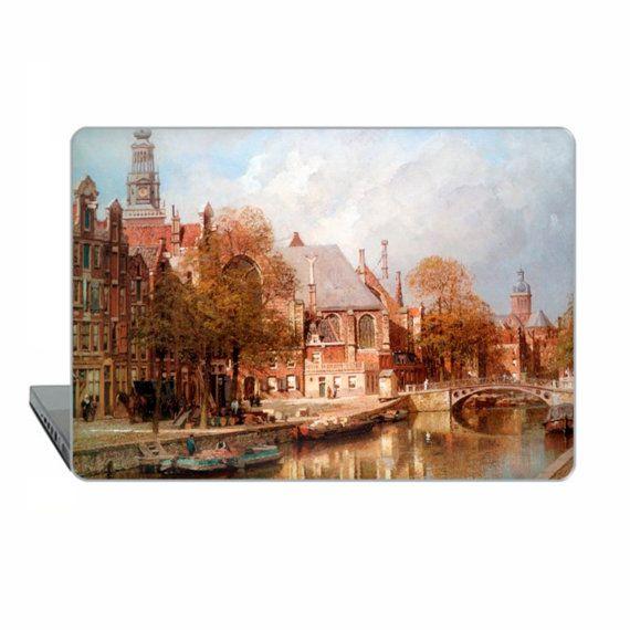 Amsterdam Macbook case Pro 15 touch bar classic art Case
