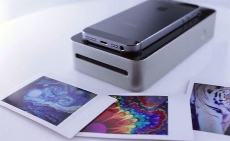 A new device seeking funding on Kickstarter uses Polaroid technology to let you wirelessly print photos from your smartphone.