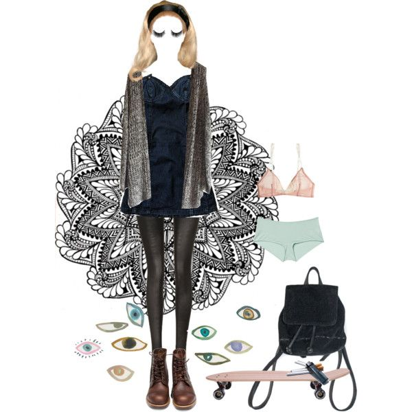 Untitled #206 by papawine on Polyvore featuring Yasmine eslami, Fogal, Monki, Red Wing and shu uemura