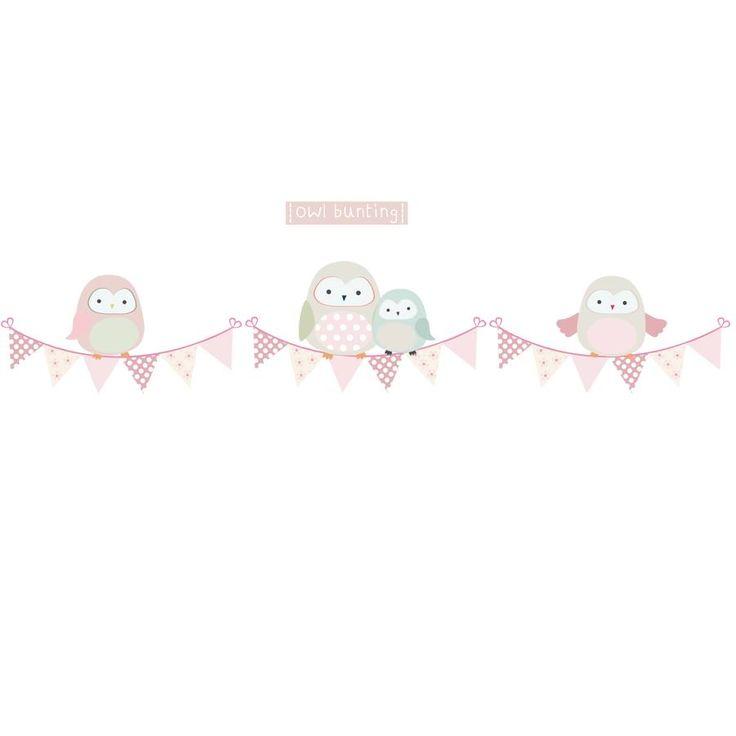 Springtime Owl Bunting