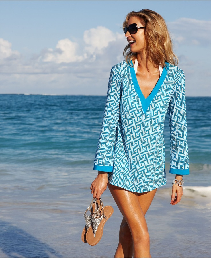 Kenneth Cole Bathing Suit Cover Up