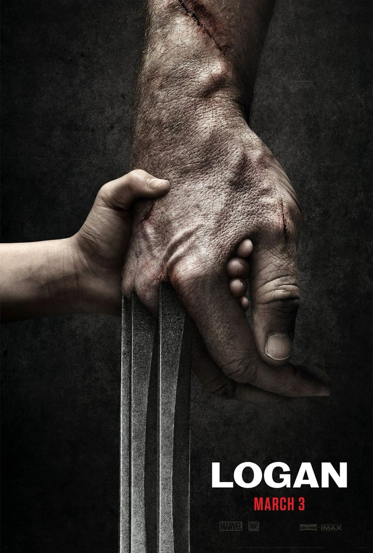 "NEW!!! Poster from the upcoming Wolverine movie entitled ""Logan"" which will hit the big screen on March 3rd, 2017!!!"
