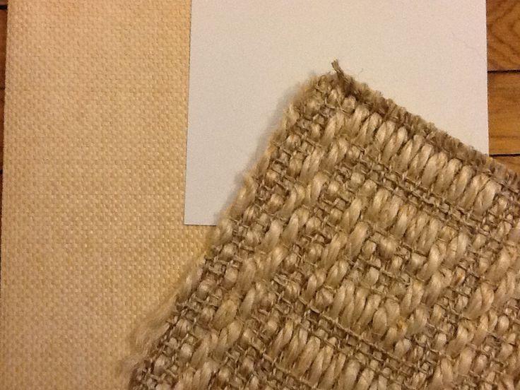 Grass Cloth Walls Paint Below Chair Rail Sisal Rug