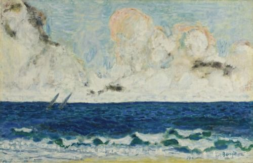 Pierre Bonnard (French, 1867-1947) - At Sea, 1936