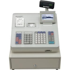 Sharp XEA307 Electronic Cash Register/ Raised Keyboard/ White.