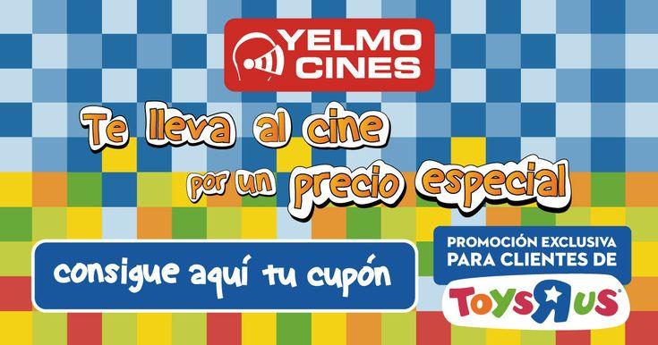 Yelmo Cines y Toys R Us te llevan al cine por un precio especial