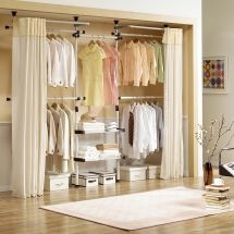 Ideas For Rooms Without Closets