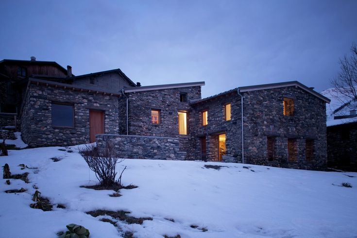 Gallery - Restoration of a Farm in the French Alps / Pierre-Doucerain + Adrien Felix-Faure - 14