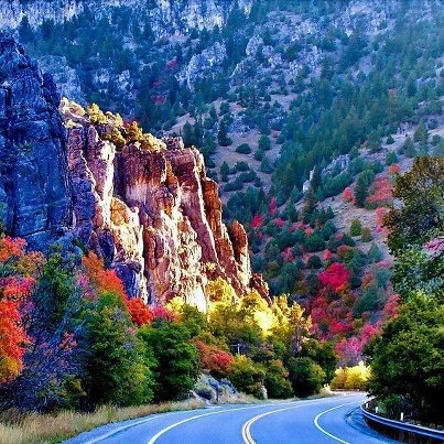 Logan canyon Northern Utah
