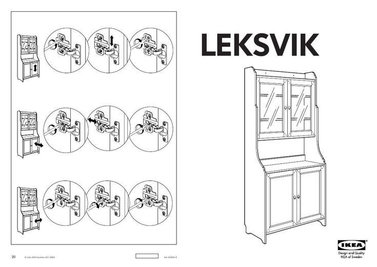 Mode d'emploi IKEA LEKSVIK