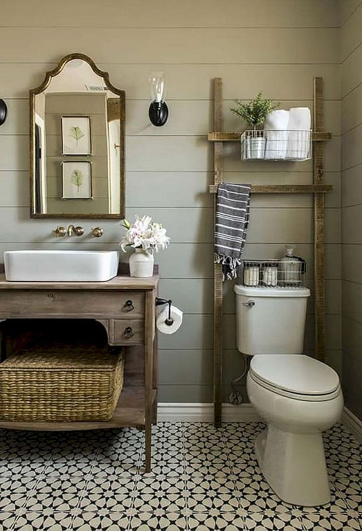 Rustic home decor bathroom - Rustic Home Decor Bathroom