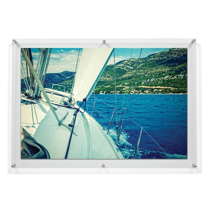 Shop Wexel Art 28x40 Double Panel Floating Acrylic Frame for 24x36 Photo at The Mine. Browse our picture frames, all with free shipping and best price guaranteed.