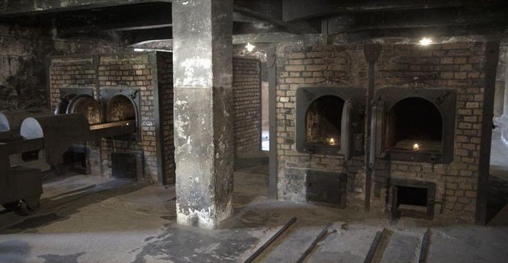 Οι φούρνοι στο Άουσβιτς που αποτέφρωναν τα σώματα εκείνων που έχαναν τη ζωή τους στο στρατόπεδο.