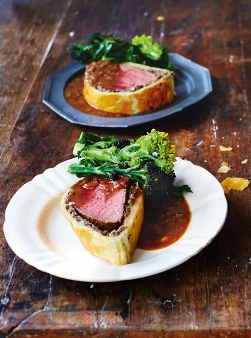Beef Wellington. With Madeira gravy This is one of those ultimate blowout dishes that hits the right spot several times in one meal