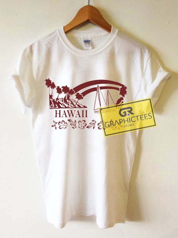 cdbc3f3af9 Hawaii Graphic Tees Shirts. Size XS Youth,S Youth,M YouthS,M,L,XL ...
