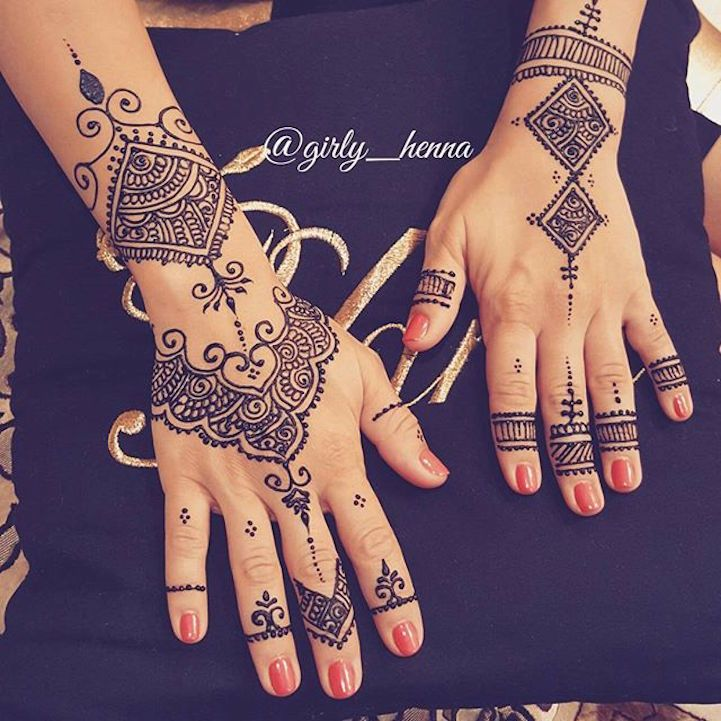 15 Gorgeously Designed Henna Tattoos with Unbelievably Intricate Patterns - My Modern Met