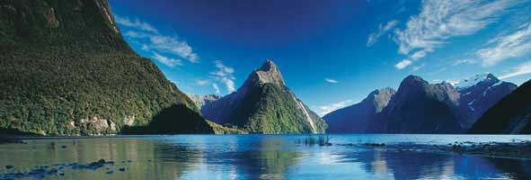Mitre peak, Fiordland National Park #NewZealand #travel #cruise