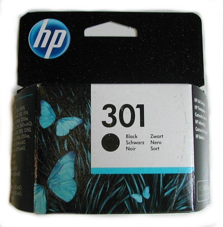 Cartouche encre noir HP 301