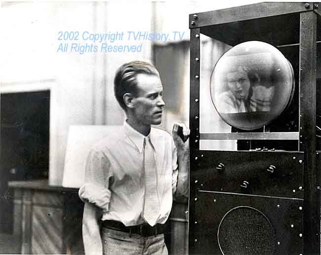 Philo T. Farnsworth, the father of modern electronic television