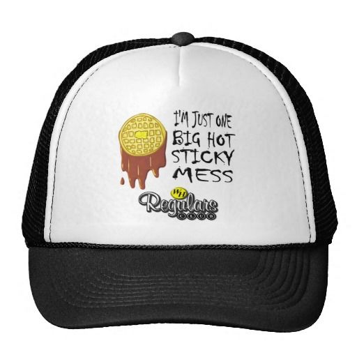 funny Waffle House trucker's hat