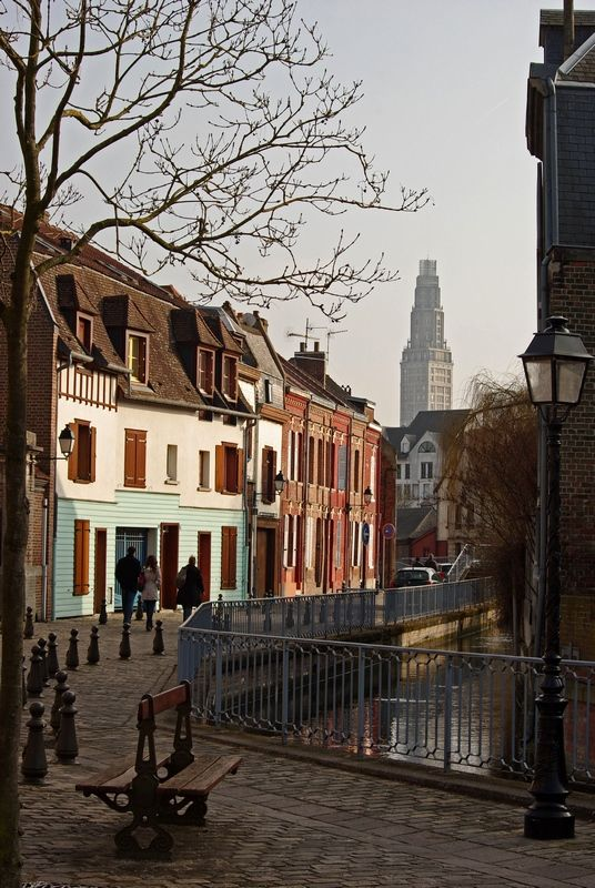 Picturesque area Amiénois, Amiens, France Copyright: Laurent Girard