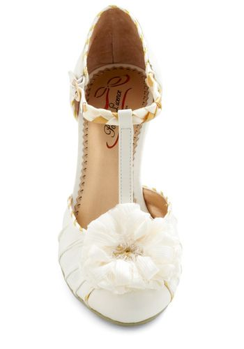 Uh oh! These are amazing!!  Privilege to Look Lovely Heel in Ivory