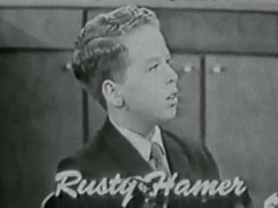 rusty hamer movies and tv shows