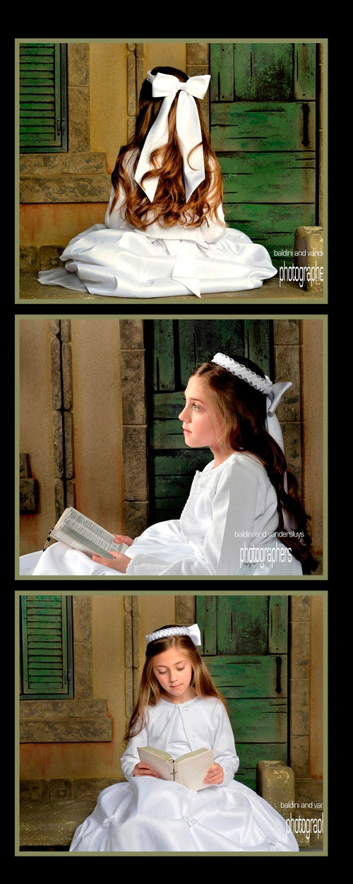 First Communion Portraits: You invest in the dress & suit you should invest a little in capturing the memory with a portrait
