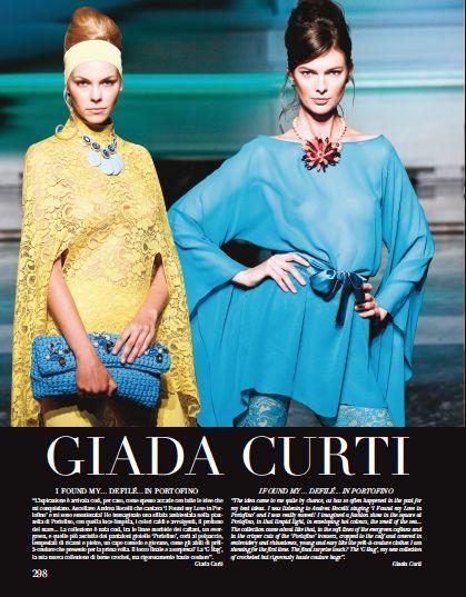 From our ROME chapter. #hautecouture #catwalk #fashionshow #rome #ss2014 #giadacurti @GIADA CURTI Haute Couture  #ifoundmyloveinportofino