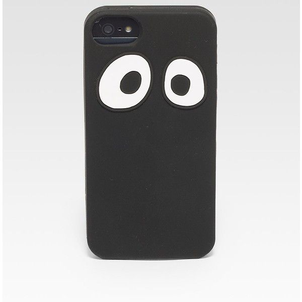 Jack Spade Googly Eyes Soft Case for iPhone 5 ($40) ❤ liked on Polyvore