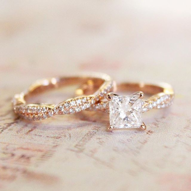 Made for each other. #BrilliantEarth #EngagementRing